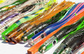 Colorful Fishing Lures Royalty Free Stock Photo