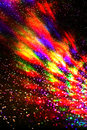 Colorful flared a abstract blurred flare Royalty Free Stock Photography