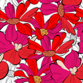 Colorful floral background Royalty Free Stock Images