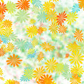 Colorful floral gift wrap Stock Photos
