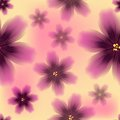 Colorful Floral Seamless Pattern Stock Photo