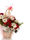 Colorful flower bouquet arrangement Stock Photos