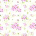 Colorful Flower Seamless Pattern Background Royalty Free Stock Photography