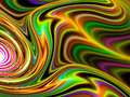 Colorful fractal background - abstract digitally generated image