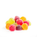 Colorful Fruit Jelly Stock Images