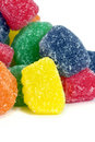 Colorful Fruit Jelly Candies Royalty Free Stock Photography