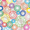 Colorful gears Royalty Free Stock Photos