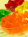 Colorful Gelatin Stock Photography