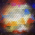 Colorful geometric background, abstract triangle Royalty Free Stock Photo
