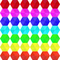Colorful geometric seamless pattern rainbow colors