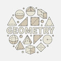 Colorful geometry illustration