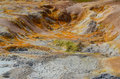Colorful geothermal area detail Royalty Free Stock Images