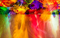 Colorful glass ceiling Royalty Free Stock Photo