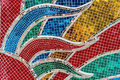 Colorful glass mosaic Royalty Free Stock Photo