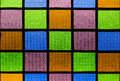 Colorful glass on windows style a Royalty Free Stock Photography