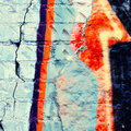 Colorful graffiti wall urban background Royalty Free Stock Photos