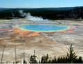 Colorful Grand Prismatic Spring Royalty Free Stock Photos