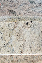 Colorful granite slabs for sale in store yard closeup Stock Images