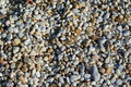 Colorful gravel pattern pea from various source rock makes an attractive Royalty Free Stock Photo
