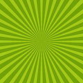 Colorful green ray sunburst style abstract background Royalty Free Stock Photo