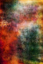Colorful grunge texture in red, orange and green Royalty Free Stock Photo