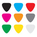 Colorful guitar picks