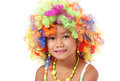 Colorful hairpiece Royalty Free Stock Photo