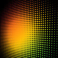 Colorful halftone Stock Photography