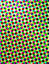 Colorful Halftone Texture Stock Photos