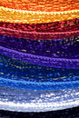 Colorful Hammocks Royalty Free Stock Photo
