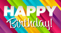 Colorful Happy Birthday Royalty Free Stock Photo