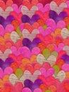 Barvitý srdce