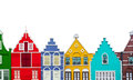 Colorful Homes Royalty Free Stock Photo