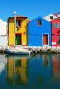 Colorful houses in Aveiro Portugal Royalty Free Stock Photography