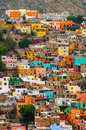 Colorful Houses of Guanajuato Royalty Free Stock Photo