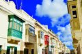 Colorful houses in Malta.