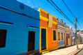 Colorful houses in Olinda, located in Pernambuco, Brazil Royalty Free Stock Photo