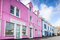 Colorful houses in Portree Royalty Free Stock Photo