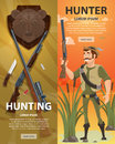 Colorful Hunting Vertical Banners