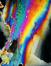 Colorful Ice Crystals  Stock Photos