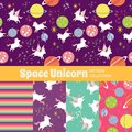 stock image of  Cute Rainbow Seamless Texture Pattern Collection