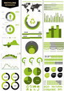 Colorful infographic Royalty Free Stock Photography