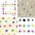 Bright colored blots Royalty Free Stock Photo