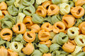 Colorful Italian Tortellini Royalty Free Stock Photography