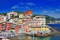 Colorful Italy series - Genova, Liguria Stock Photos