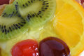 Colorful jelly fruit Royalty Free Stock Photo