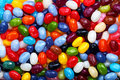 Colorful jellybean background Stock Photo