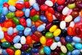 Colorful jellybean background Stock Photo
