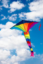 Colorful kite Royalty Free Stock Photos