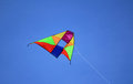 Colorful Kite Flying Stock Image